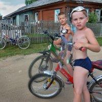 Деревенские ребята :: Валерий Талашов