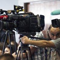 """Камера..мотор..съемка...""""Молодежный карьерный форум в СКК"""" :: Владимир Питерский"""
