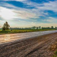 Рассвет в дороге :: Анастасия Ульянова