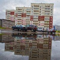 Цветной город в пасмурную погоду*** :: Павел Федоров
