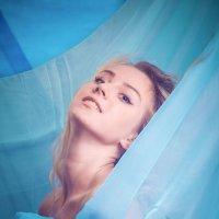 Портрет на голубом фоне :: Юра Викулин