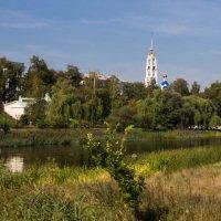 Вид на Набережную и канал Цны. Тамбов :: Виктор