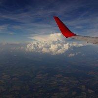 Под крылом самолета. :: Андрей Вычегодский