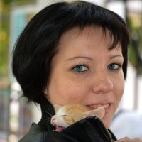 Приютила котика :: Marina Timoveewa