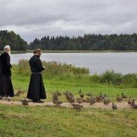 Монахи Валдайского монастыря :: aleveg