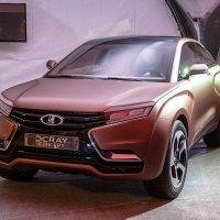 Новый кроссовер Lada XRay концепт :: Александр Николаев