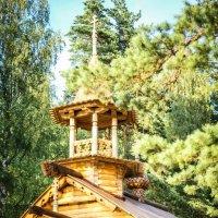 Деревянная часовня на озере Красавица, Лен.обл. :: Людмила Сафина