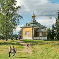 Никольская церковь Ольгина монастыря :: Олег Попков