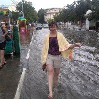 А вы когда-нибудь купались на улице? :: Кэти Сыч