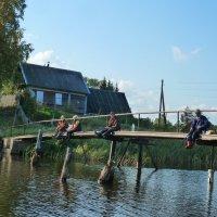 рыбаки и рыбачки :: Надя Попова