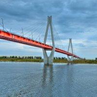 Вантовый мост в Муроме :: Кирилл Малов