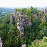 Вид на мост Бастай, саксонская Швейцария :: Роман Раевский