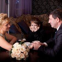 Мама и папа - жених и невеста :: Margarita Shrayner