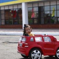 Маленький водитель. :: Viktor Сергеев