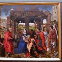 """Columba-Altar"" Rogier van der Weyden, um 1455, Старая Пинакотека, Мюнхен,Рогир ван дер Ве :: Olga"