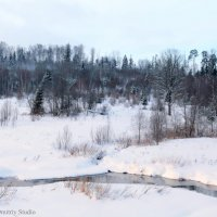 Зимний пейзаж :: Дмитрий Шилин