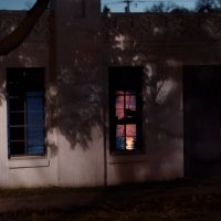 Закат в окошке. :: Valentyna Chenoweth