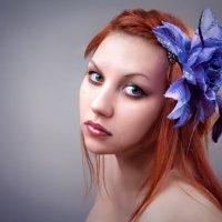Девушка с цветком :: Максим Логунов