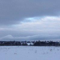 Вид.Облака,как горы... :: Натали Каменская