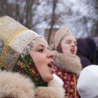 Рождество в Новгороде. Фольклорный ансамбль Кудесы :: Константин Фуфин