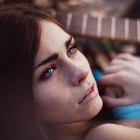 Фотосет Девушка с Гитарой :: Sergey Gadenov