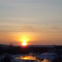 Зимнее утро :: Сергей Комков