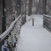 одинокий мост любви :: Kate Vakhrina