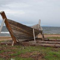 Поморская лодка :: Сергей Саблин
