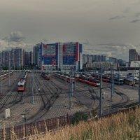 Трамвайная ночлежка :: Дмитрий Шилин