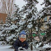 Снеговику быть! :: Евгений Гудименко