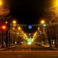 Улица празднует НГ :: AV Odessa