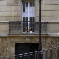 велосипед на балкончике на улицах Парижа :: Ekaterina Shchurina