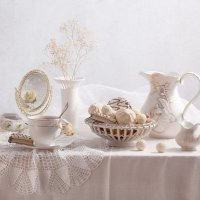 White still life :: Alina Lankina