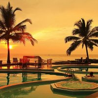 Закат на Цейлоне... :: Александр Вивчарик