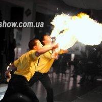 огненный дракон от барменов :: Сергей Мартынец