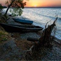 Уходило солнце за Байкал :: Виктор Перякин