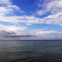 Чёрное море в Адлере :: Владимир Болдырев