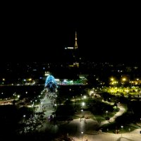 Ночь над городом :: Наталья Джикидзе (Берёзина)