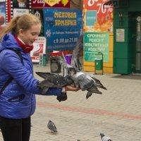 Кормящие голубей :: АлеКсей Балашовъ