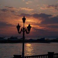 Закат над Спортивной гаванью :: Дмитрий Проскурин