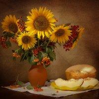 Солнечный букет с дыней :: Юлия Эйснер