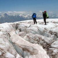 Ледовые трещины :: Anatol Dzhygyr