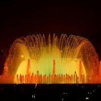 Поющий фонтан, Барселона 2014 :: Оксана Ветрова