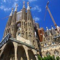Саграда Фамилия, Храм святого семейства, Барселона :: Оксана Ветрова