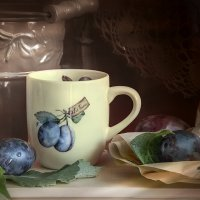 Про сливу на столе... :: Bosanat