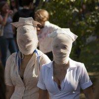 Парад зомби в Киеве :: Евгений Челноков