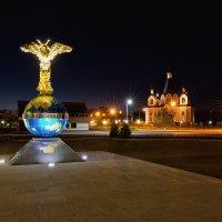 Десногорск ночью :: Анатолий Тимофеев