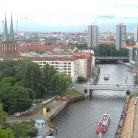 Берлин с высоты птичьего полета :: Галина