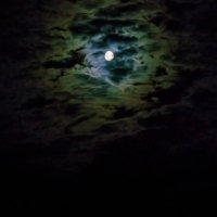 Лунный пейзаж. :: Анатолий Клепешнёв