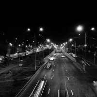 ул. Ташкенская, ночью :: Vladimir Valker